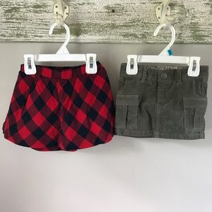 Gap and H&M Baby Girl Skirt Bundle Size 18-24 mo